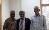Nayanajyothi Trustees with Dr. Ashok Grover -President All India Ophthalmologist Society
